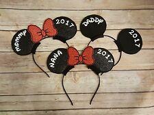 Custom Mickey or Minnie Mouse ears