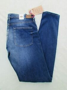 "Women's Fossil Blue Denim Skinny Slim Selvedge ""WC3319479""Low Rise Jeans Size 29"