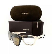 New Tom Ford Eyeglasses TF 5474 32E Gold With Clip On 53•19•140 With Case