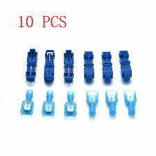 20Pcs T-Tap Male & Female Insulated Electrical Wire Terminals Crimp Connectors