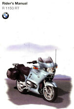 2001 BMW R1150RT MOTORCYCLE OWNERS RIDERS MANUAL-R 1150 RT-R1150 RT-ENGLISH TEXT