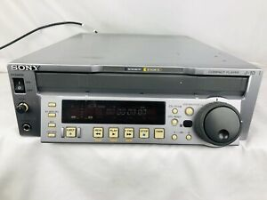 Sony J-10 DV Component Video BETACAM BETACAM SP/SX NTSC/PAL Compact Player