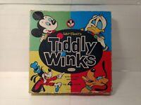 Whitman 1963 Walt Disney's Tiddly Winks Board Game gm809