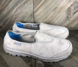 Skechers Go Walk Autumn Slip On Tan Walking Women's Size 8.5