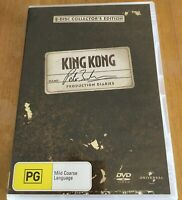 KING KONG 2 DISC COLLECTORS EDITION DVD MOVIE COLLECTABLE DVD PAL NEW, FREE POST