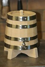 2 Litre American Oak Port/Spirit Barrel Hand Crafted Aus Made