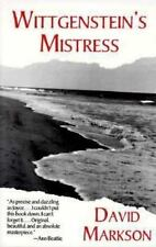 Wittgenstein's Mistress by David Markson (1990, Paperback)