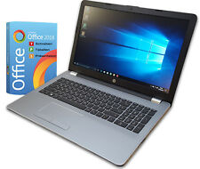 "HP Notebook 15"" Silber - Intel 4x 2,50GHz -8GB - 256SSD- Win10-FHD Office 2018"