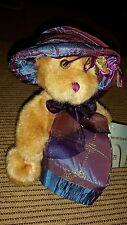 Dan Dee plush bear with trinket box