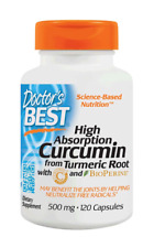Doctor's Best Curcumin C3 Complex 500mg Capsules 120 EA