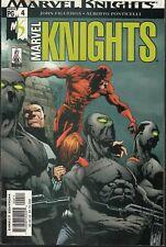 MARVEL KNIGHTS #4 2002 -DAREDEVIL,PUNISHER,BLACK WIDOW- FIGUEROA/PONTICELLI..VF-