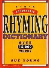 Scholastic Rhyming Dictionary  (ExLib) by Sue Young