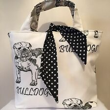 British Bull Dog Print Bag