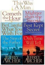 Jeffrey Archer Clifton Chronicles Series 6 Books Collection Set
