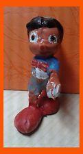 "Pinoccio Pinocho Rubber Figure 2.5"" Walt Disney"