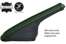 GREEN STITCH CARBON FIBER VINYL HANDBRAKE FOR NISSAN 200SX S14 SILVIA 93-99