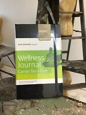 """Moleskine Passion Wellness Journal Hardcover Large (5"""" x 8.25"""") Black 240 Pages"""