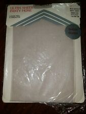 Vintage Mc Crory Stores Queen Panty Hose Soft Grey