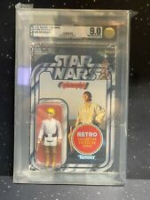2019 Star Wars Retro Collection Luke Skywalker AFA U9.0