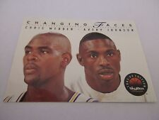 Carte NBA SKYBOX 1993-94 #300 Chris Webber Avery Johnson Golden State Warriors