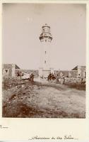 Algérie, Aïn El Turk, observatoire du cap Falcon  Vintage citrate print Tira