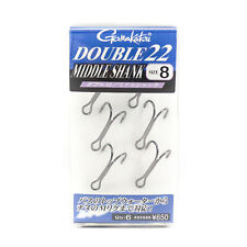 Gamakatsu 42327 GA-020 Assist Hook Short Sniper Double Size 2//0 4209