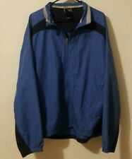The North Face Windbreaker Jacket Flight Series Size XL Blue and Black