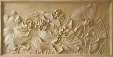 New STL file of Flowers 3d Model for CNC Machine