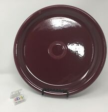 """Fiesta Claret BISTRO Dinner Plate 10 1/2"""" Diameter - Many Available!"""