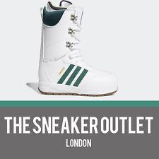 Mens Adidas Samba ADV Snowboarding Boots UK Size 8 White Green D97892 EU 42