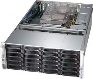 4U 36 Bay Server 6GB/s Expander X9DRI-LN4F+ 2x E5-2650 V2 256GB FREENAS IT MODE