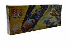 "Vintage Model Plane Aurora SBC-3 HELLDIVER 1/4"" Scale NEW SEALED 1961"