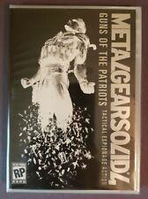 METAL GEAR SAGA VOL. 2 ~ MG SOLID 4 PRE-ORDER DVD ~ 2008 KONAMI BRAND NEW SEALED