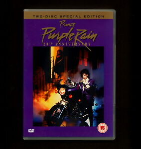 PRINCE: Purple Rain (DVD, 1984, 2-Disc edition) music  (REGION 2 not for USA)