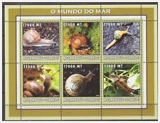 0606 Mozambique 2002 Slak snail S/S MNH