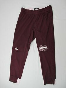 Mississippi State Bulldogs adidas Athletic Pants Men's Used Multiple Sizes
