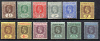Leeward Islands 1912-22 values to 2s MLH/MH