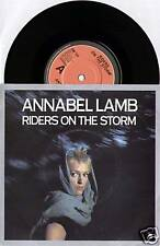 "Annabel LAMB ~ jinetes en la tormenta/No Cure ~ 1983 Reino Unido 7"" Single + P/S"
