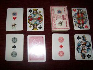 Alte Spielkarten Piatnik ca. 1922 Werbung für Steyr