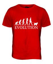 TIBET TERRIER EVOLUTION DES MENSCHEN UND HUND HERREN T-SHIRT TEE SHIRT S M L XL