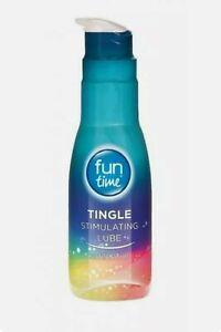 fun time Lube tingle - Sensual Massage  Gel - Flavoured Lubricants 75ml