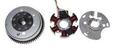 KR Lichtmaschine Stator +  Lichtmaschinenrotor Polrad 12V / 85 W 6 Spule 4 Kabel