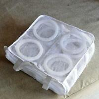 White Washing Shoes Mesh Net Air Bag Washing Machine Laundry Bag Cleaner Case G