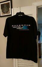 adult T-shirt Atlantis World Tour U.S. Space & Rocket Center Huntsville Alabama