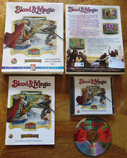 Blood & Magic (PC CD-ROM 1996) - UK Version - Dungeons & Dragons AD&D - V.G.C.