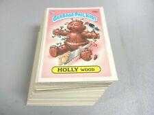 1986 Garbage Pail Kids GPK USA Series 4 Complete 1st Print error 84 cards Mint