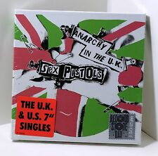 "SEX PISTOLS Anarchy In The UK 5x7"" VINYL Singles BOX SET Sealed RSD 2017 US & UK"