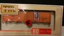 Train Miniature Ho Vintage Rath Packing Steel Reefer Kit, Nib