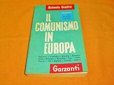 antonio giolitti il comunismo in europa garzanti 1960