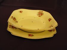 1950s Vintage Royal Staffordshire Honeyglaze Lettuce Dish